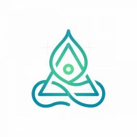 Triangular Yoga Logo