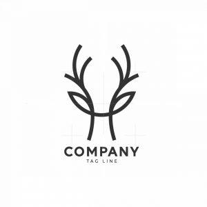 H Deer Logo