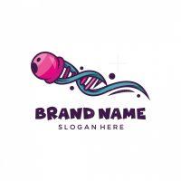 Jellyfish Dna Logo