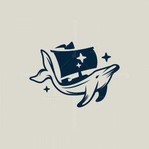 Dolphin Ship Logo