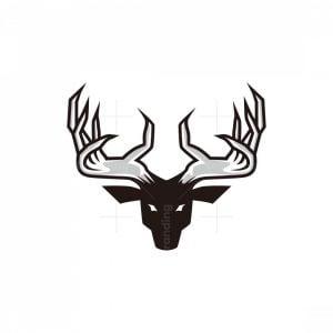 Antlers Hand Logo
