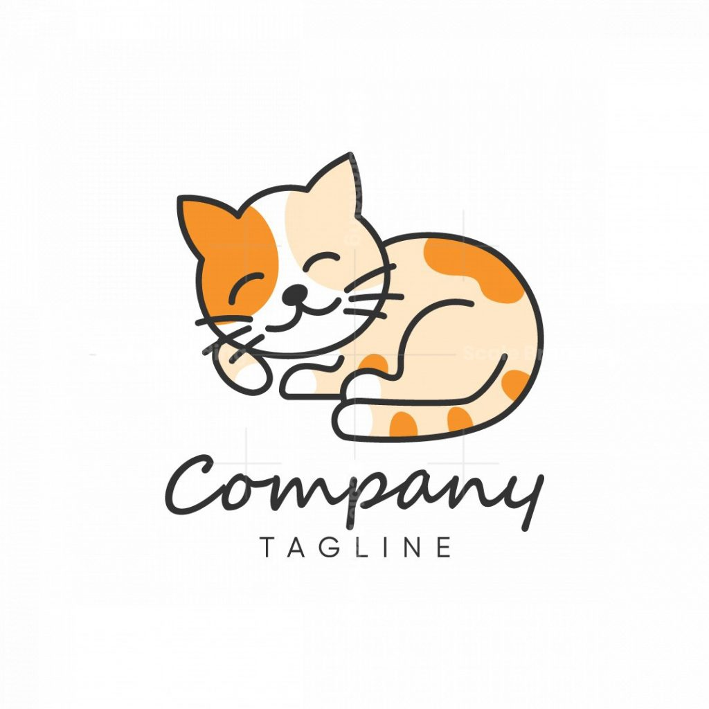 Cute Cat Logo