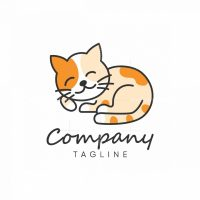 Cute Cat Logo