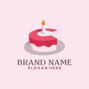 Cake Letter Logo