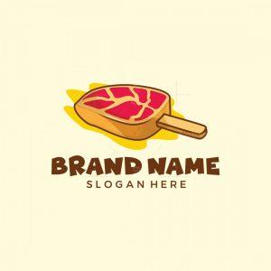 Meat Ice Cream Logo