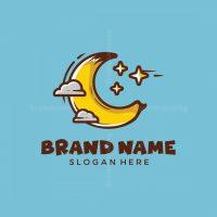 Moon Banana Logo