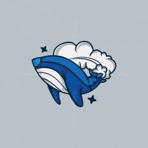 Rocket Whale Logo