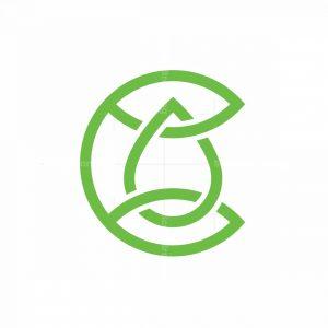 C Water Drop Logo