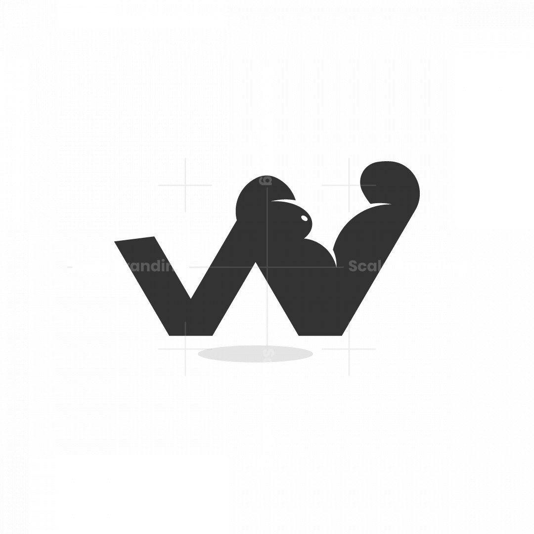 W Gorilla Logo