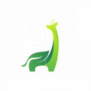 Nature Giraffe Logo