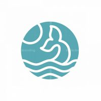 Whale Tail Beach Logo