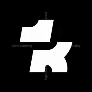 Dog Letter K Logo