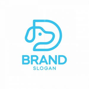 D Dog Logo