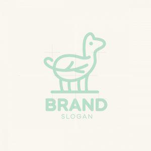 Llama Leaf Logo