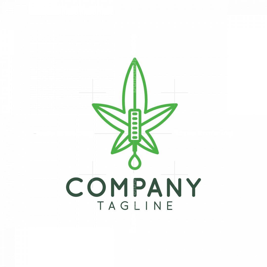 Tattoo Cannabis Logo