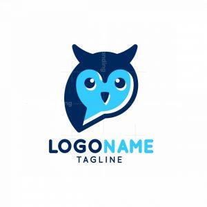 Owl Chat Logo
