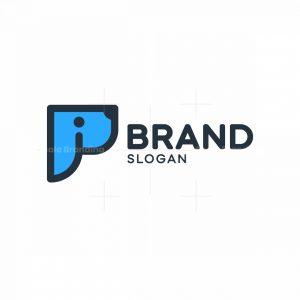 P Dog Logo