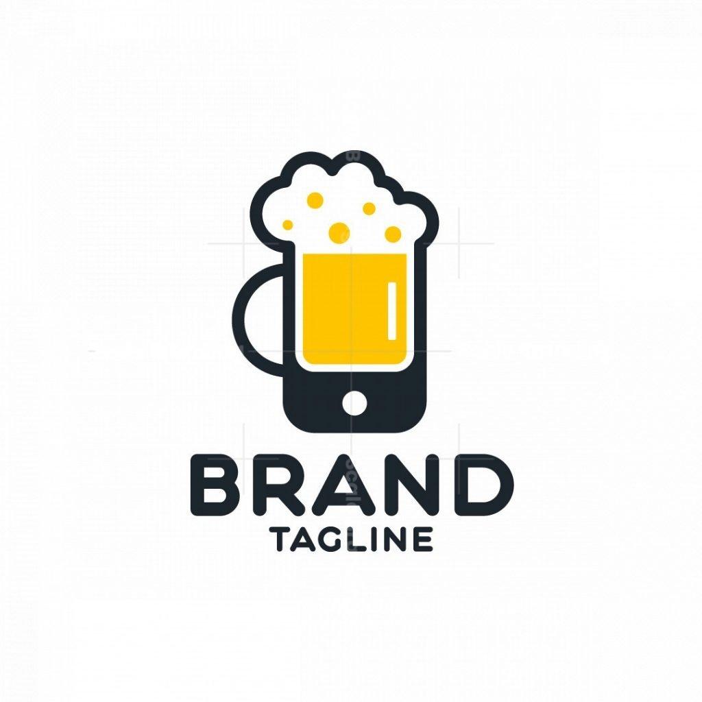 Phone Beer Logo
