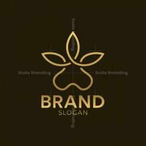 Paw Leaf Logo