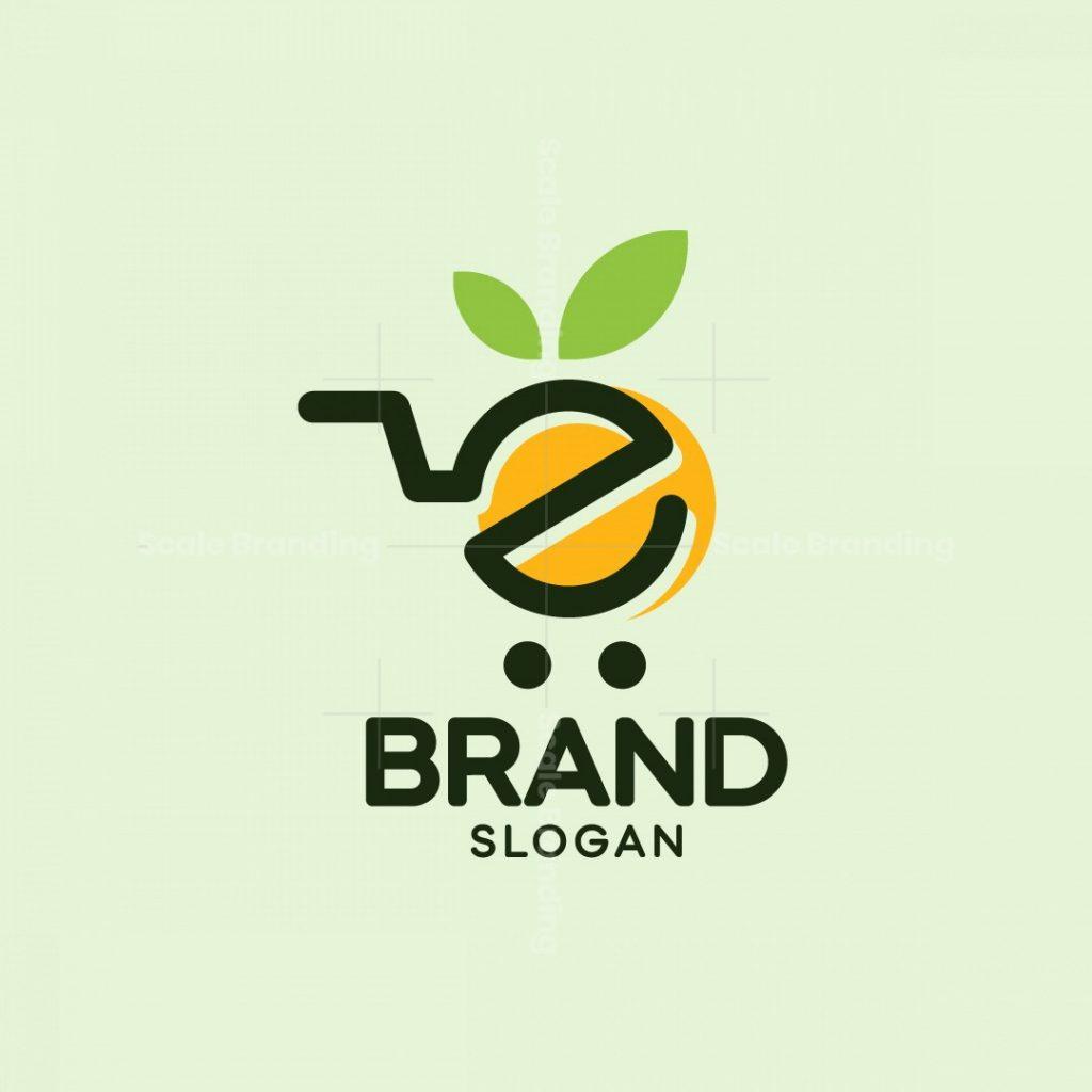 Fruit Shopping Logo