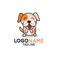 Cute Bull Dog Logo