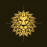 Geometric Lion Logo