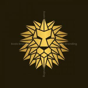 Geometric Lion Logo