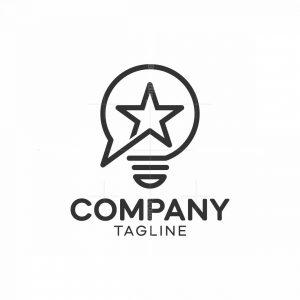 Star Lightbulb Logo
