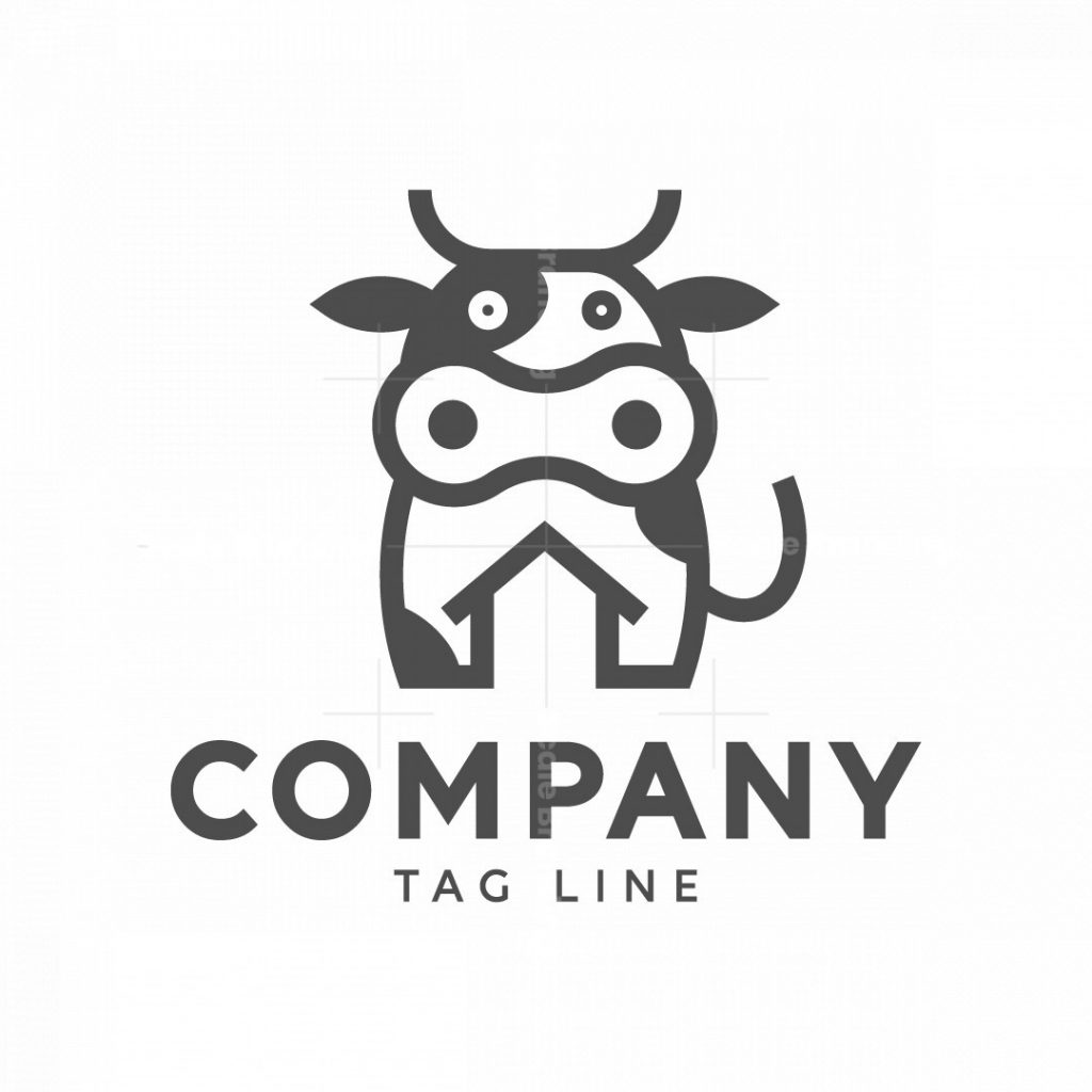 Milk Cow Logo
