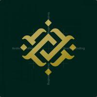 Abstract Letter Av Logo
