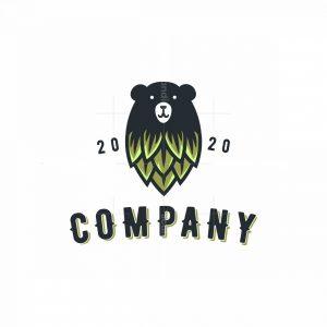 Bear Hops Logo