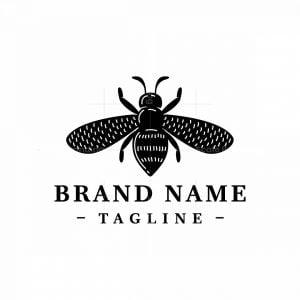 Bee Apiary Logo