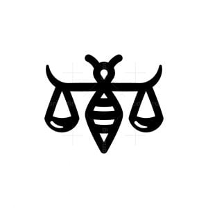 Bee Of Justice Logo