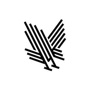 Monoline Black Eagle Hunt Logo