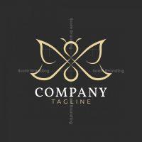 Luxury Butterfly Logo