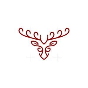 Curve Head Moose Logo