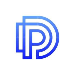Dp Or Pd Monogram Logo