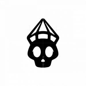 Diamond Skull Logo