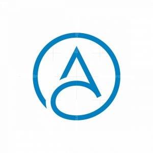 Dynamic Letter A Logo