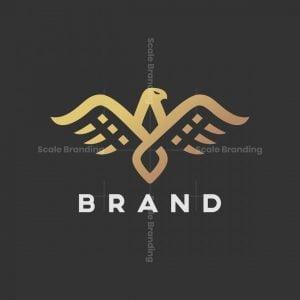 Elegant Stylish Eagle Logo