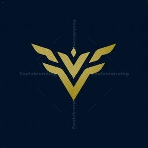 Elegant Letter V Logo