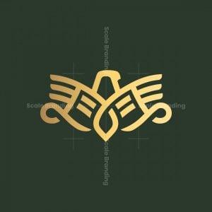 Elegant Simple Eagle Logo