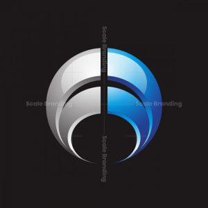 Ff Letter Circle Logo