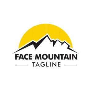 Face Mountain Logo