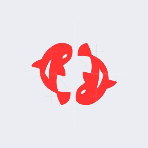 Koi Fish Logomark