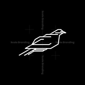 Futuristic Bird Logo