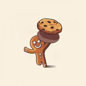 Gingerman Cookies Logo