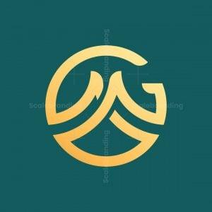 Letter Gm Monogram Logo