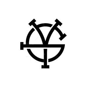 Gy Or Yg Monogram Logo