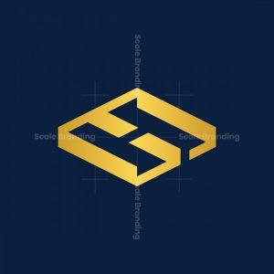 Hg Or Gh Initial Monogram Logo